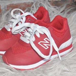 New Balance Baby Toddler 574 RED Sneakers Size 5